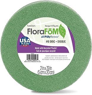 FloraCraft FloraFōM Disc 2 Inch x 7.9 Inch Green