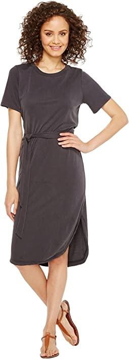 Culture Phit - Arlene Short Sleeve Midi Dress with Front Tie