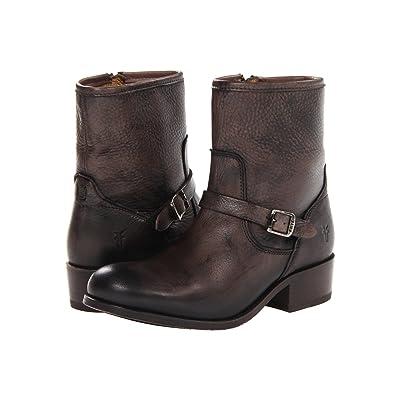 Frye Lynn Strap Short (Grey Soft Antique) Cowboy Boots