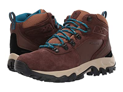 Columbia Newton Ridge Plus II Suede WP (Tobacco/Lagoon) Men