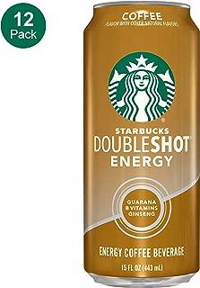 Starbucks, Doubleshot Energy Drink, Coffee, 15 Fl Oz (Pack of 12)