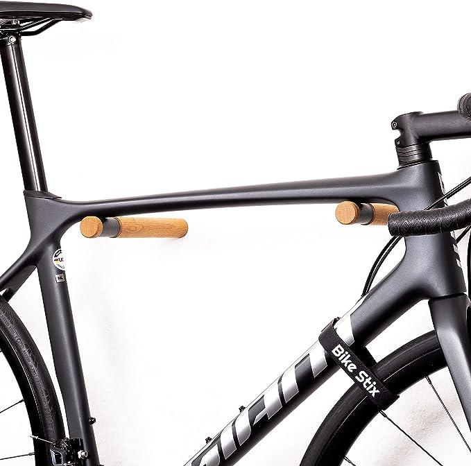 134 opinioni per Bike Stix Portabici da Muro in Legno Edizione di altissima qualità del Porta