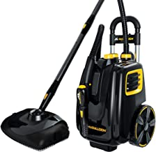 McCulloch MC1385 Deluxe Canister Steam Cleaner with 23 Accessories, Chemical-Free Pressurized Cleaning for Most Floors, Co...