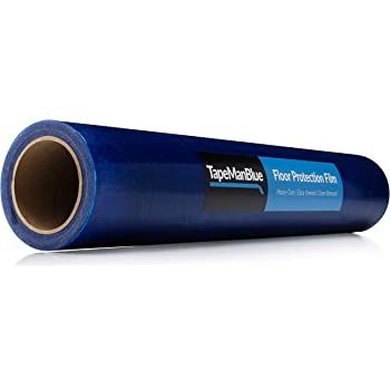 Blue Surface Protection Film 12 Wide x 25 ft.