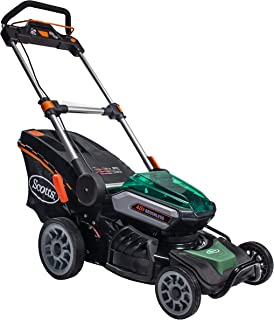 Scotts Outdoor Power Tools 60040S 19-Inch 40-Volt Cordless Lawn Mower, LED Lights, 5Ah Battery and Fast Charger Included