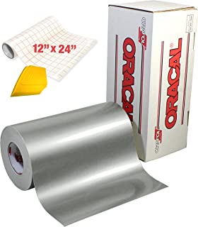 ORACAL 651 High Gloss Craft Adhesive Vinyl 15ft x 1ft Roll w/Free 12