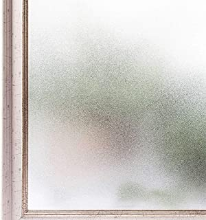 Tubin 窓用フィルム めかくしシート 窓 目隠しシート UVカット 断熱 遮光 結露防止 水で接着 貼り直し可能 (スリガラス, 60*200cm) (スリガラス, 90*200cm)
