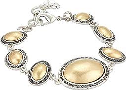 Pave Gem Link Bracelet