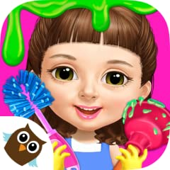 Go on new cleaning adventures for kids with baby girl Chloe! Clean up a super messy baby house & make it a dream home! NEW! Dress up Chloe for & design a perfect cleaning outfit! NEW! Choose from the cutest swimming pool toys! Clean the bedroom, bath...