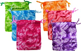 'Dondor' Camouflage Drawstring Bags - (12 Pack - Tie Dye Camo)