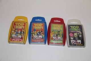Top Trumps card game - Simpsons 4 Pack - Volume 1,2 and 3 and Simpsons Horror