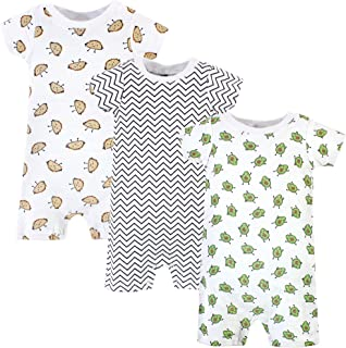 Hudson Baby Baby Girls' Cotton Rompers