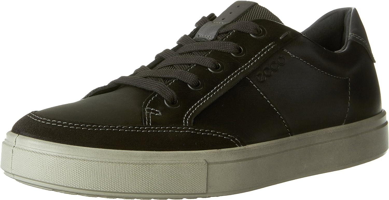 ECCO shoes Men's Kyle Sneaker Lace up shoes, Moonless, 47 EU 13-13.5 M US