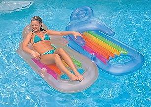 Intex King Kool 58802EP Inflatable Lounging Swimming Pool Float, Multi-Colored