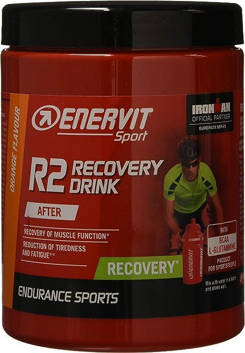 Bevanda energetica - enervit - prodotto energetico r2 sport, 400 g 607-300-000