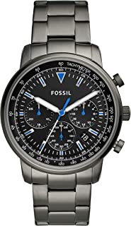 Fossil Mens Chronograph Quartz Watch with Stainless Steel Strap FS5518