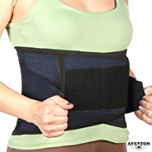 Back Support Lower Back Brace Provides Back Pain Relief - Breathable Lumbar Support Belt for Men and Women Keeps Your Spine Straight and Safe - Small Size 28''- 33