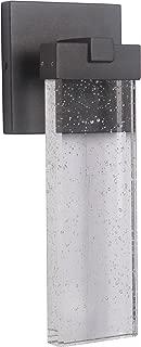 Craftmade Z1604-05-LED Aria Crystal Outdoor LED Wall Sconce, 1-Light 12 Watt (6