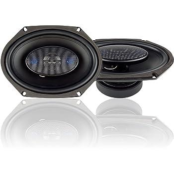 Blaupunkt 6 x 8-Inch 300W 4-Way Coaxial Car Audio Speaker, Set of 2