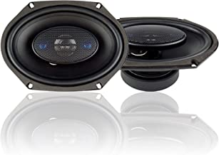 $30 » Blaupunkt 6 x 8-Inch 300W 4-Way Coaxial Car Audio Speaker, Set of 2