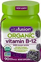 Sponsored Ad - Vitafusion Organic B12 Gummy Vitamin, 90 Count - Non-GMO, Gluten-Free, No Gelatin, No HFCS