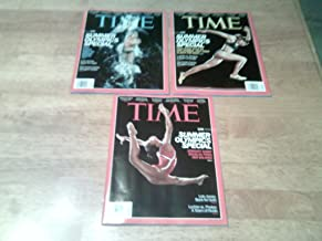 All Three (3) Time Magazine July 30, 2012 U.S. Olympic Covers. 3 Complete issues: 1 each Ryan Lochte cover, Gabby Douglas copy and LoLo Jones copy. New, unread mint-condition newstand copies