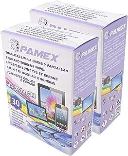 PAMEX - Toallitas Húmedas 60 Sobres Unidades Individuales