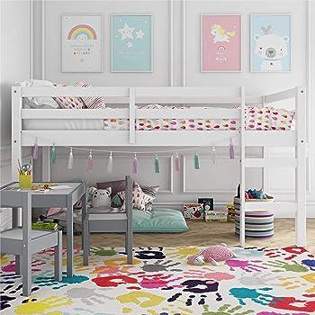 Dorel Living Milton Junior Twin Loft Bed