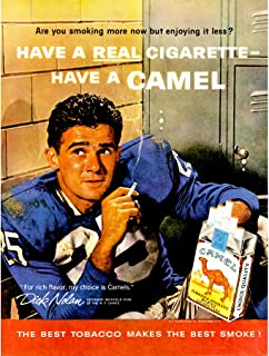 Wee Blue Coo Vintage reklam cigaretter tjock Nolan New York Giants New Fine Art Print Poster bild 30 x 40 cm CC4676