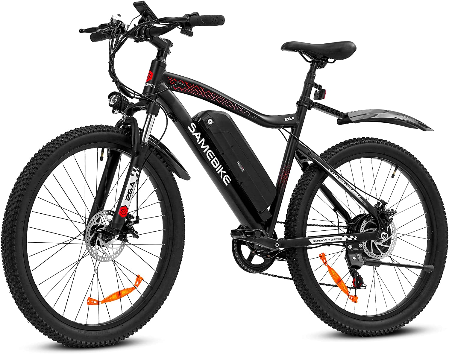 SAMEBIKE Electric Mountain Bike Upgraded Manufacturer regenerated product 500W Mph Ebike 25 National products Motor