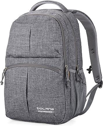 b941af874b3d BOLANG College Backpack for Men Women Water Resistant Travel Backpack  Laptop Backpacks Fits Under 16 Inch
