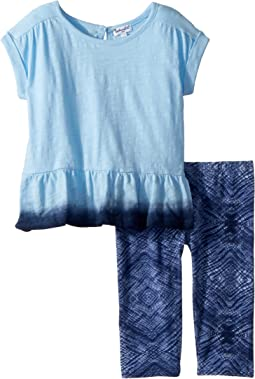 Dip-Dye Top Set (Little Kids)