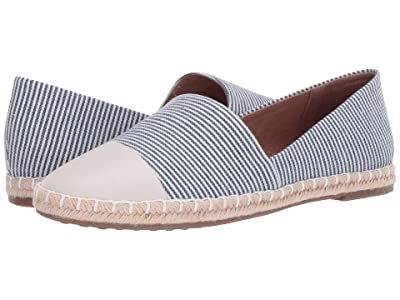 Me Too Steele (Stripe/Navy Toe Cap) Women
