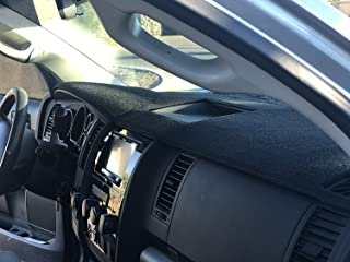Angry Elephant Black Carpet Dashboard Cover- Fits Toyota Tundra 2014-2019All Models. Custom Fit Dash Cover, Easy Installation.