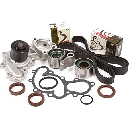 Evergreen TBK271WPT Compatible With Toyota 3.4 Pickup DOHC 5VZFE Timing Belt Kit Water Pump