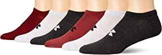 Under Armour Men's Essential Lite No Show Socks 6-Pair, Shoe Size: Mens