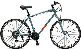 Retrospec Bicycles Retrospec Motley Hybrid Bike 21 Speed, Pewter