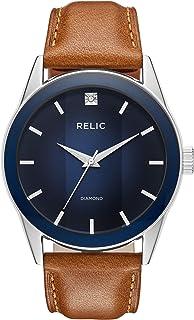 Men's Rylan Quartz Stainless Steel Diamond Accent Dress Watch
