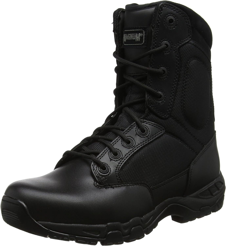 Magnum Viper Pro 8.0, Unisex Adults' SRA Work Boots, Black (Black 21), 6.5 UK (40 EU)