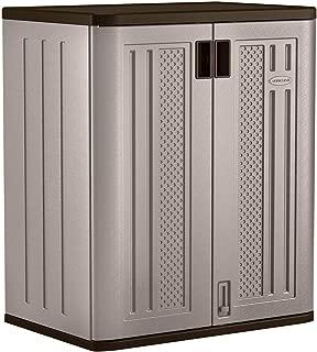 Suncast Base Storage Cabinet - Resin Construction for Garage Storage - 36