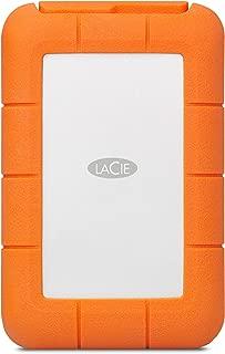 LaCie STGW4000800 4 TB 堅固 RAID Pro USB 3.1 (USB-C + USB 3.0) 便攜式 2.5 英寸防震防摔外部硬盤驅動器適用于 PC 和 Mac ,帶集成的 SD 讀卡器