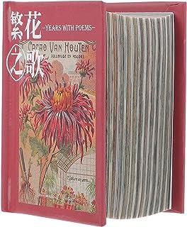 EXCEART 400 Feuilles Vintage Scrapbooking Matériel Papier Antique Rétro Floral Plantes Feuille DIY Art Projet Matériaux po...