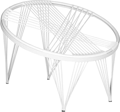 Safavieh Home Collection All-White Launchpad Chair