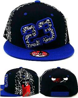 best service 2b5e5 a34ef Greatest 23 Chicago New MJ Jordan Bulls Colors Alt Black Blue Crackle  Cement Era Snapback Hat