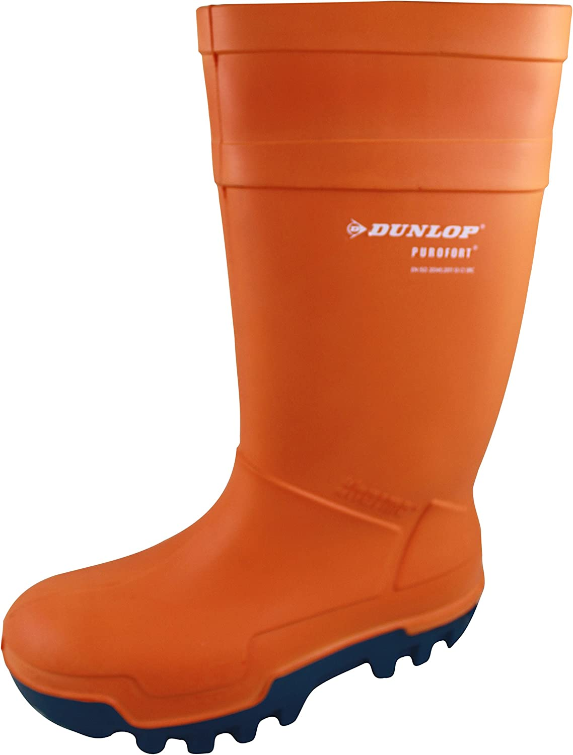 Dunlop Purofort Thermo orange Safety Wellies Welly Wellington Boots Insulated 5-13