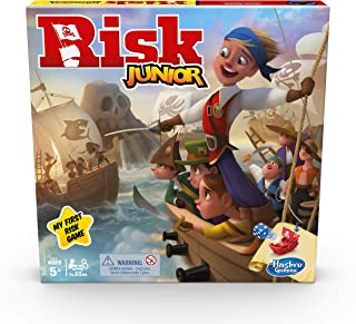 Hasbro Gaming Risk Junior, child-friendly strategy game, from 5 years and up