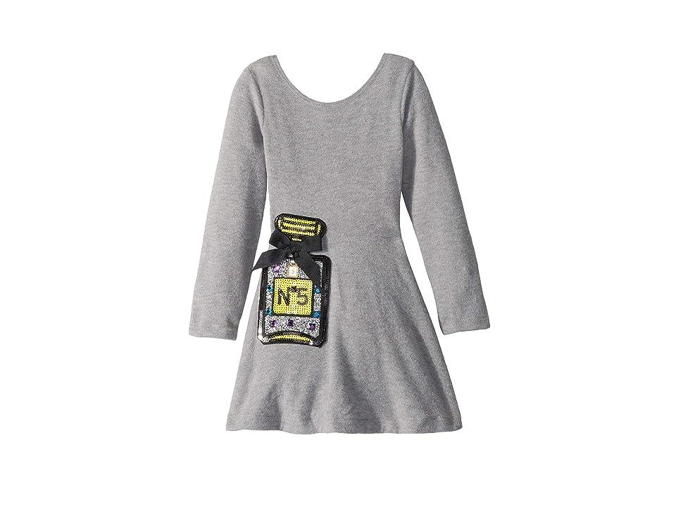 fiveloaves twofish Perfume #5 Play Skater Dress (Toddler/Little Kids) (Grey) Girl