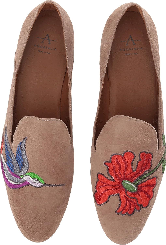 Aquatalia Womens Emmaline Nappa Slip-On Loafer