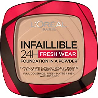 L'Oreal Paris Infaillible 24H Fresh Wear Foundation In A Powder, 130 True Beige