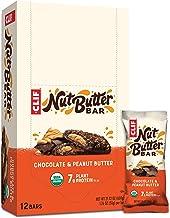 CLIF Nut Butter Filled Bar Chocolate Peanut Butter, 12 x 50 g